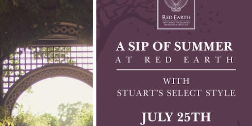 A Sip of Summer at Red Earth