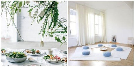3 Course Vegan Brunch, Healing Sound Bath Immersion with Restorative Yoga  tickets