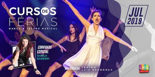 Cursos de Férias de Teatro Musical e Danças em Recife - Julho | 2019