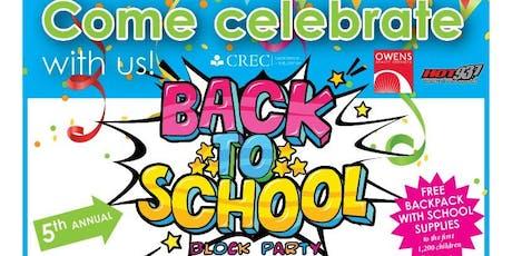 CREC Back To School Block Party  tickets