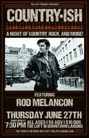 Country•ish Featuring Rod Melancon