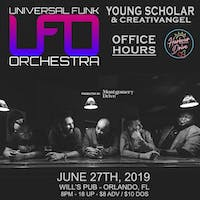 UFO w/ Young Scholar & CreativAngel, Office Hours, and Harbour Drive