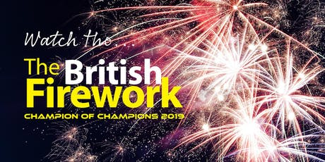 British Firework Championships Plymouth 2019 tickets