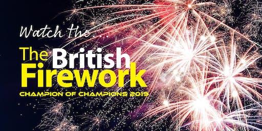 British Firework Championships Plymouth 2019