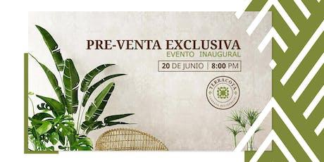 Terracota - Evento Inaugural - Pre-venta Exclusiva entradas