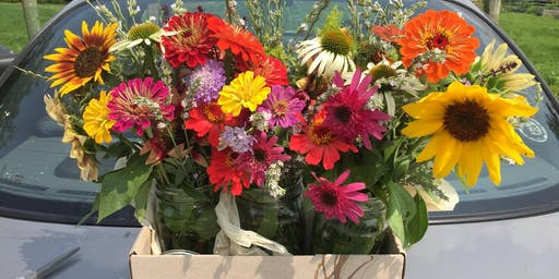 Summer Flower Arranging at the Farm