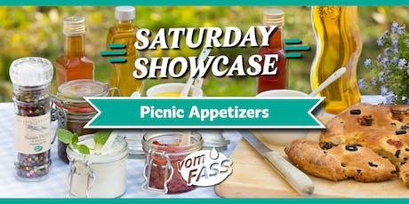 Saturday Showcase: Picnic Appetizers tickets