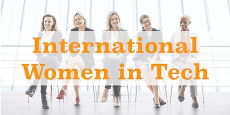 International Women in Tech from Europe, Canada & Japan plus Fireside Chat tickets