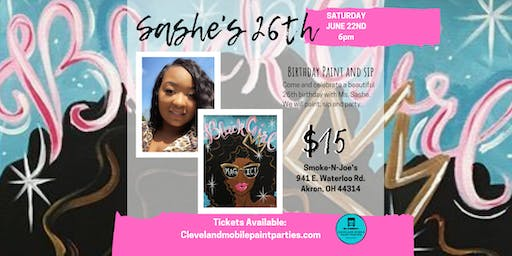 Sashe's 26th Birthday Paint and Sip