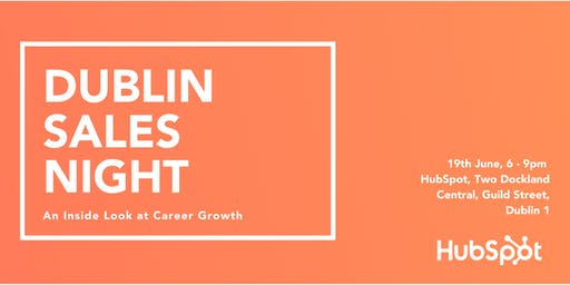 Dublin Sales Night: An Inside Look at Career Growth
