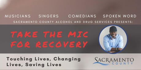 Take the Mic for Recovery tickets