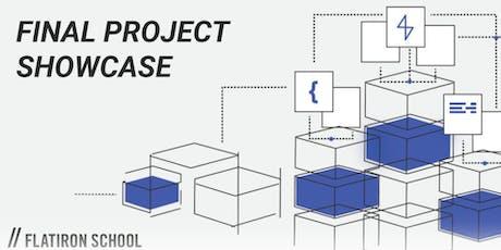 Final Project : Showcase  | Flatiron School Seattle tickets