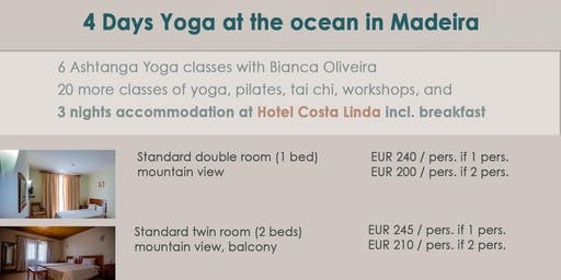 4 days Yoga at Ocean with accommodation