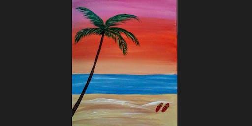 Beach Kid Paint Camp