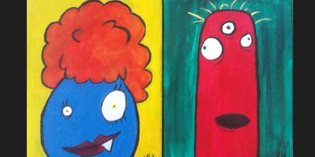 Monster Kid Paint Camp tickets