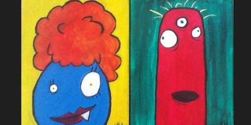 Monster Kid Paint Camp