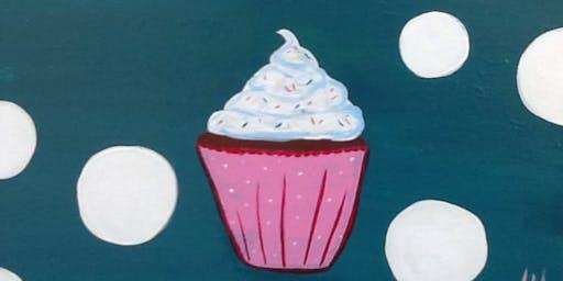 Cupcake Kid Paint Camp