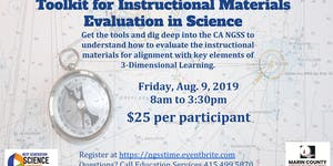 Toolkit For Instructional Materials Evaluation in Scien...