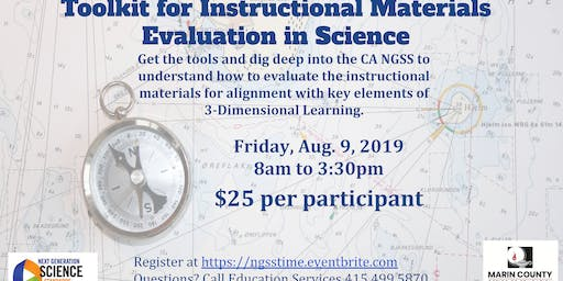 Toolkit For Instructional Materials Evaluation in Science