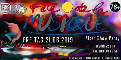 Fete de la Musique | After Show Party im Club Palais 13