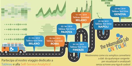 Tableau Test Drive Genova biglietti