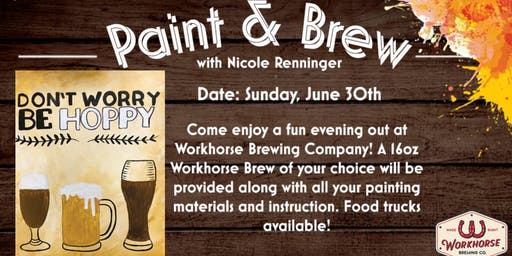 Art & Brew at The Workhorse