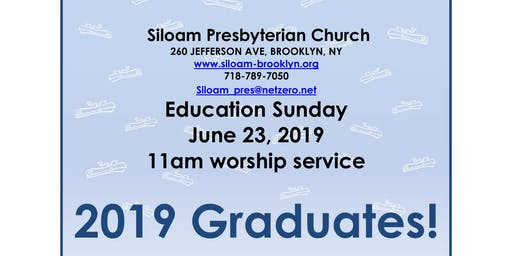 Siloam Presbyterian Church: Education Sunday