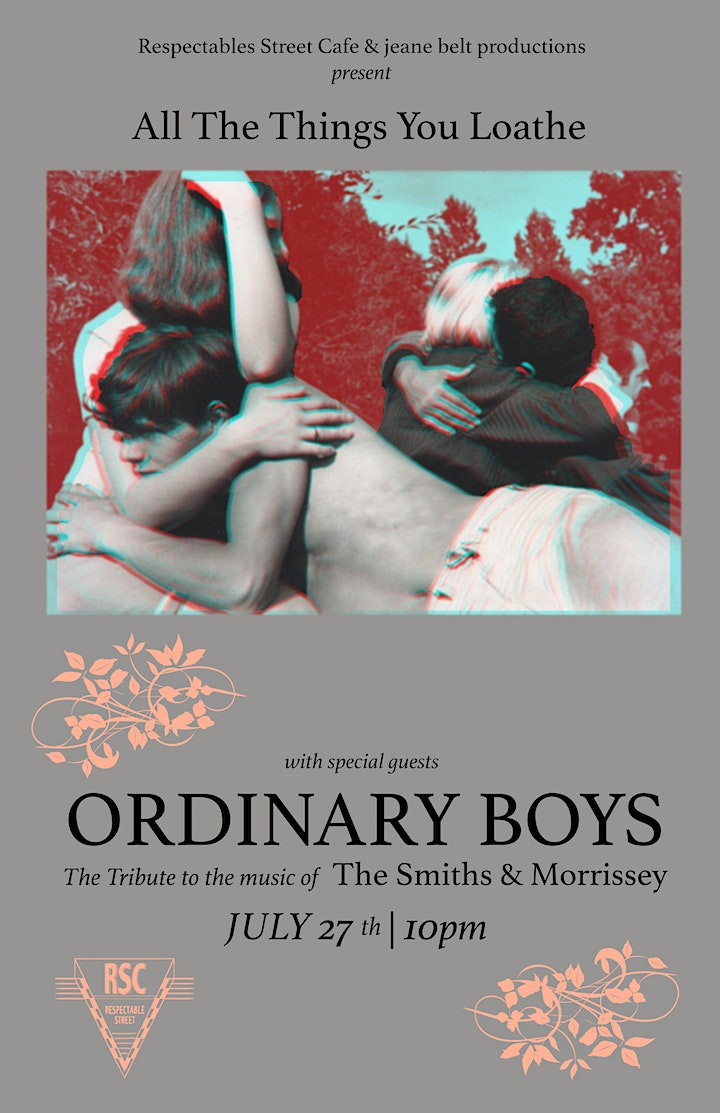 ORDINARY BOYS (Tribute to The Smiths & Morrissey) image