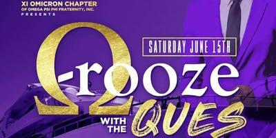 Q-ROOZE WITH THE QUES (Omega Psi Phi Boatride) 2019