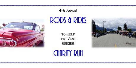 Rods & Rides To Help Prevent Suicide Charity Run 2019 tickets