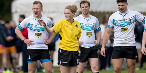 Level 1 Referee Course (Morgan RFC)