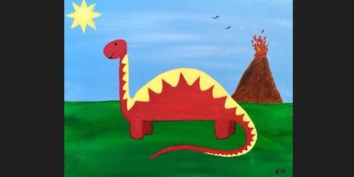 Dinosaur Kid Paint Camp