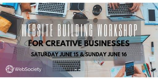 Website Building Workshop for Creative Businesses