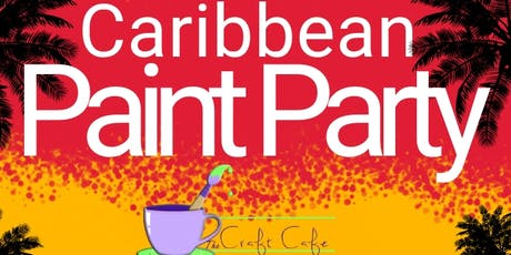 Carribbean Paint Night tickets