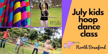 July Kids Hula Hoop Star Class   North Branford   4 Week Series  tickets