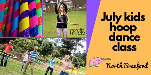 July Kids Hula Hoop Star Class | North Branford | 4 Week Series