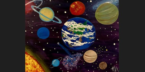 Space Kid Paint Camp