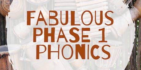 Fabulous Phase 1 phonics - Bury tickets