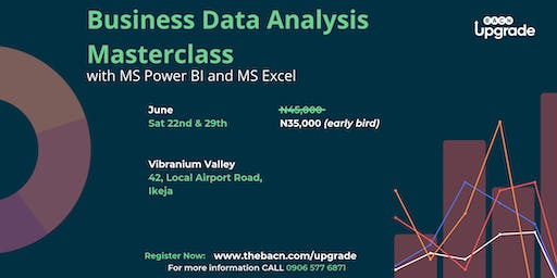 Business Data Analysis Masterclass with MS Power BI and MS Excel