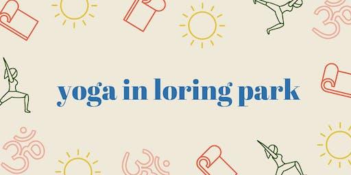 Yoga in Loring Park
