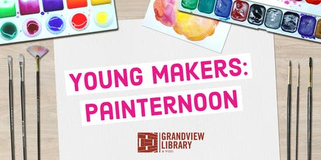 Young Makers: Painternoon tickets
