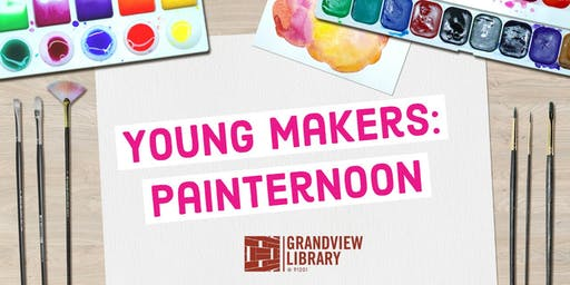 Young Makers: Painternoon
