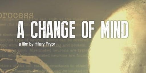 A Change of Mind (Documentary) Screening