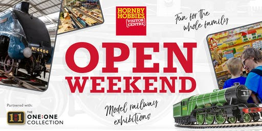 Hornby Visitor Centre – The One:One Collection Open Weekend (Sunday)