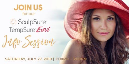 Summer SculpSure & TempSure Info Session