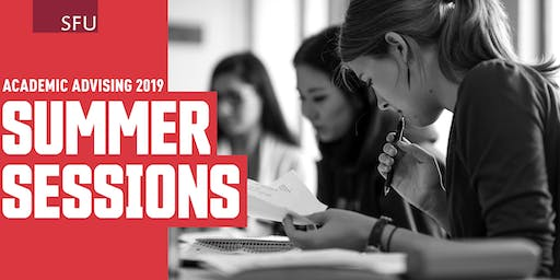FAS Advising Session (Burnaby): June 27, 5:00PM-7:20PM