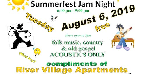Summerfest Jam Night