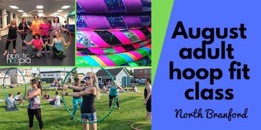 August Adult Hoop Dance Fitness Class | North Branford | 4 Week Series