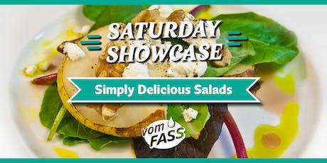 Saturday Showcase: Simply Delicious Salads tickets