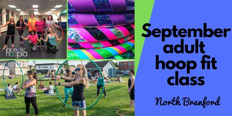 September Adult Hoop Dance Fitness Class | North Branford | 4 Week Series  tickets